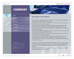 Link toBusiness website template 007