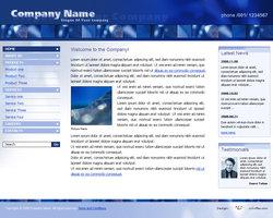 Link toBusiness website template 011