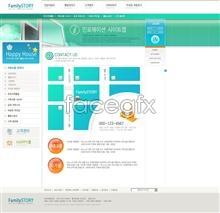 Link toBusiness website template psd