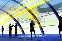 Link toBusiness workplace people silhouette high resolution images