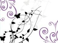 Link toButterflies card vector free