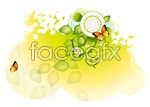 Link toButterfly and floral design 14 vector