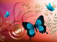 Link toButterfly graphics vector free