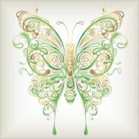 Link toButterfly pattern 04 vector