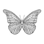 Link toButterfly tattoo designs vector