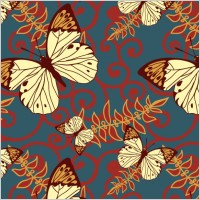Link toButterfly vector background