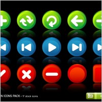 Link toButton icons pack icons pack