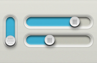 Link toButtons and sliders psd
