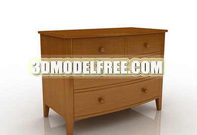 Link toCabinets lockers retro furniture, solid wood cabinet finishing and practical 3d model of