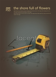 Link toCad drawing pencil psd