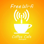 Link toCafe wifi signal vector