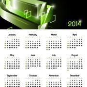 Link toCalendar 2014 vector huge collection 125