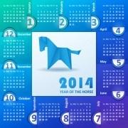 Link toCalendar 2014 vector huge collection 33