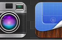 Link toCamera and winterboard replacement icons psd