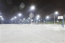 Link toCampus basketball court lighting pictures