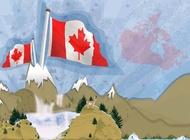 Link toCanadian mountains landscape vector free