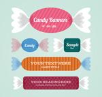 Link toCandy banner vector