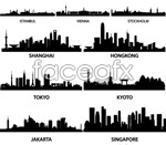 Link toCapital city sketches vector