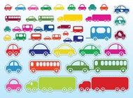 Link toCar bus truck vector free