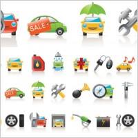 Link toCar icon vector