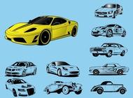 Link toCar illustrations vector free