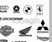 Car logos psd
