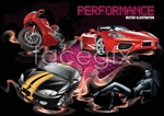 Link toCar motorcycle beauty vector