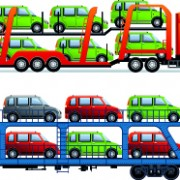 Link toCar transporter creative vector free