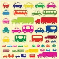 Link toCar truck bus vectors