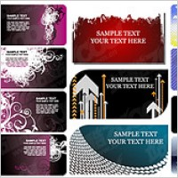 Link toCard template vector background material