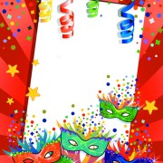Link toCarnival night background with mask vector 01 free