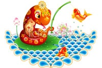 Link toCarp fishing cartoon snake picture