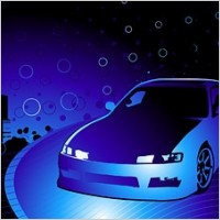 Link toCars and cool background vector