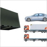 Link toCars, container trucks, lifting trucks, large cars, forklift vector