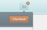Link toCart dropdown psd