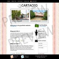 Link toCartaceo: a portfolio template