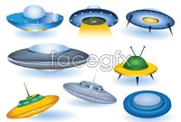 Link toCartoon alien ship vector graphics