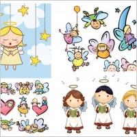 Link toCartoon angel vector