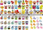 Link toCartoon animals and monsters vector