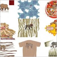 Link toCartoon animals vector pattern