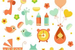 Cartoon baby design vector