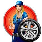 Link toCartoon beauty technicians vector