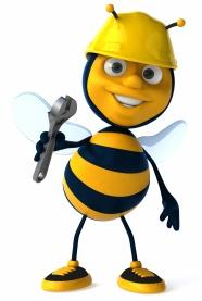 Link toCartoon bee workers pictures