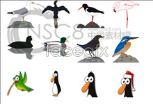 Link toCartoon birds icons