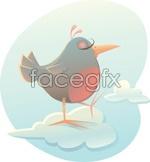 Link toCartoon birds vector