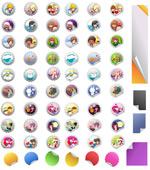 Link toCartoon bottle stickers