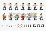 Link toCartoon business man vector