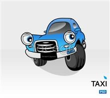 Link toCartoon cab psd