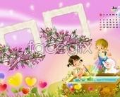 Link toCartoon calendar template psd