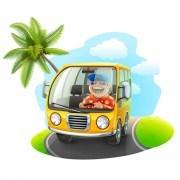 Link toCartoon car cute vector graphics set 05